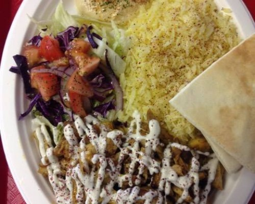 Chicken Gyro Plate